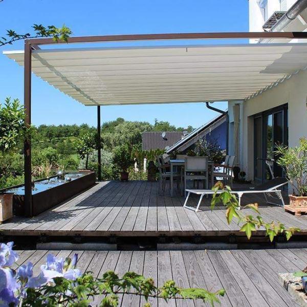 velusol das wettersegel sonnensegel f r terrassen aus. Black Bedroom Furniture Sets. Home Design Ideas